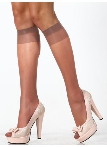 Pierre Cardin 4'Lü Dizaltı Çorap Bronz